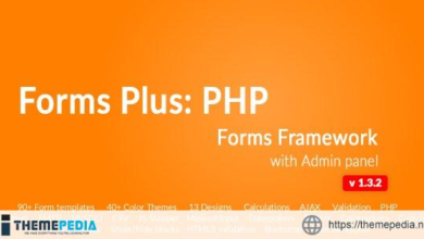 Form Framework with Admin Panel – Forms Plus: PHP – [Codecanyon Scripts]