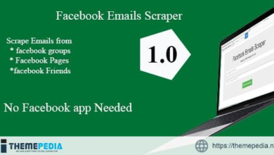 Facebook Groups /Pages/ Profiles Emails Scraper 1.1 – [100% Nulled Script]