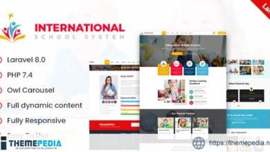 International – School PHP Laravel Script – [Free Download]