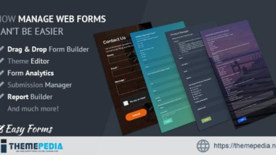 Easy Forms: Advanced Form Builder and Manager – [Free Codecanyon Script download]