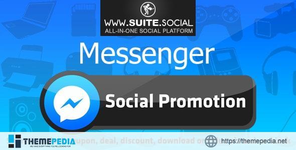 Facebook Messenger Promotion: Sharer, Viral and Marketing Social Script – [Codecanyon Scripts]