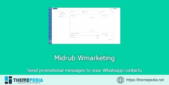 Wmarketing – send promotional messages to Whatsapp contacts – [Free Codecanyon Script download]