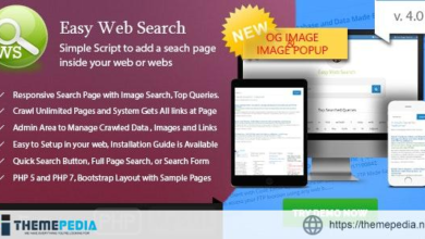 Easy Web Search – PHP Search Engine with Image Search and Crawling System – [100% Nulled Script]