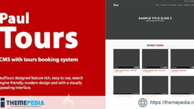 PaulTours – CMS with tours & transfer booking system – [Free Codecanyon Script download]