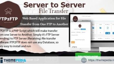 FTP2FTP – Server to Server File Transfer PHP Script – [100% Nulled Script]