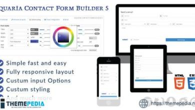 Aquaria contact form builder 5 – [100% Nulled Script]