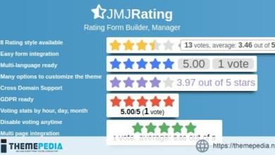 JMJRating: Rating Form Builder, Manager – [Free Download]