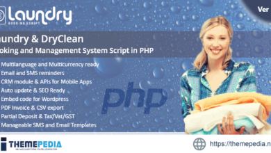 Laundry booking and management script – [100% Nulled Script]