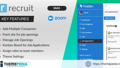 Recruit SAAS – Recruitment Manager – [Free Codecanyon Script download]