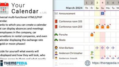 Your Calendar – Universal multi-functional calendar. Team, rental, multipurpose calendar. – [100% Nulled Script]