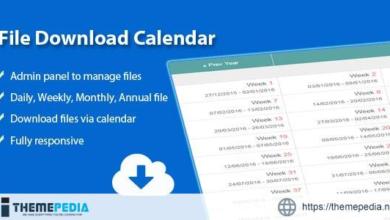 File Download Calendar – [Free Download]