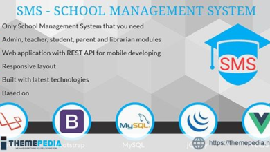 School Management System – SMS – [Free Codecanyon Script download]