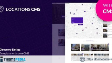 Find a Place – Cms Directory Php Script – [100% Nulled Script]