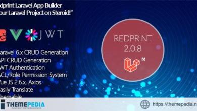 Redprint Laravel 6 App Builder CRUD Generator Plus – [Free Download]