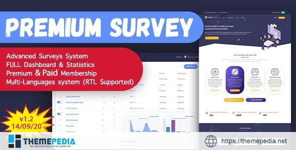 Puerto Premium Survey Builder SAAS – [100% Nulled Script]