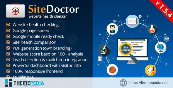 SiteDoctor – Website Health Checker – [Codecanyon Scripts]