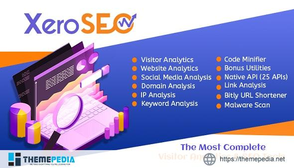 XeroSEO – The Most Complete Visitor Analytics & SEO Tools – [Free Codecanyon Script download]