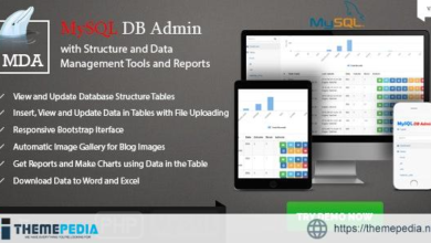 MySQL Database Admin and Reports – Manage Database and Data Made Easy with PHP – [Free Codecanyon Script download]
