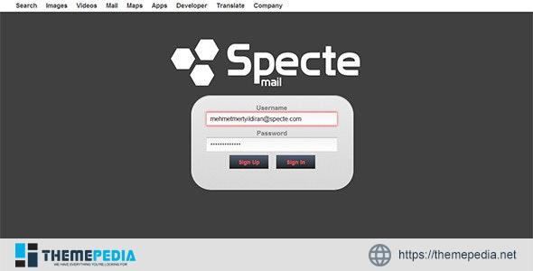 Specte Webmail Server and Interface – [100% Nulled Script]