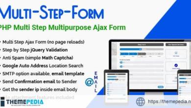 Multi-Step-Form – PHP Multi Step Multipurpose Ajax Form – [100% Nulled Script]