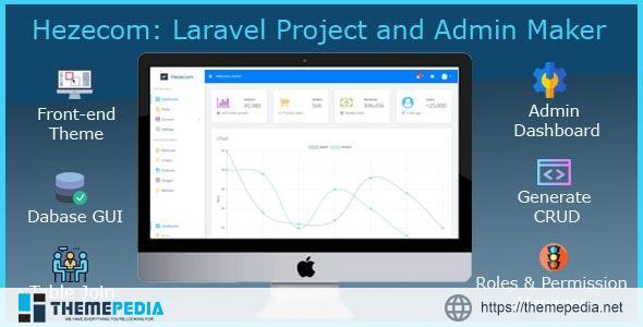 Hezecom: Laravel Project and Admin Maker – [Free Codecanyon Script download]