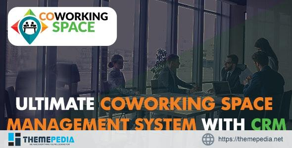 Ultimate Co-Working Space Management System with CRM – [Free Download]