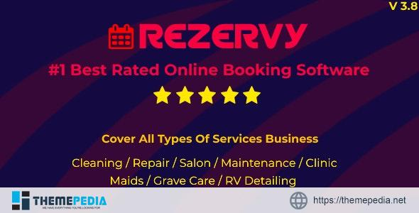 Rezervy – Online bookings system for cleaning, maids, plumber, maintenance, repair, salon services – [100% Nulled Script]