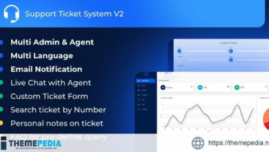 Support Ticket System V2 – [Codecanyon Scripts]