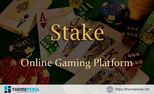 Stake – Online Casino Gaming Platform   Laravel Single Page Application   PWA – [Download Torrent]