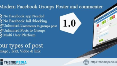 Modern Facebook Groups Poster and commenter – [100% Nulled Script]