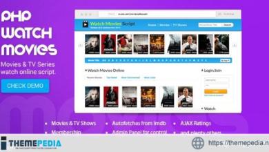PHP Watch Movies Script – [Download Torrent]