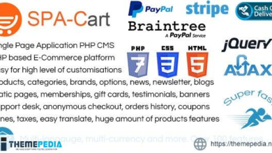 SPA-Cart – Single Page Application. Fully featured eCommerce CMS platform. Very fast ajaxfied pages. – [100% Nulled Script]