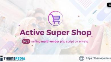 Active Super Shop Multi-vendor CMS – [100% Nulled Script]