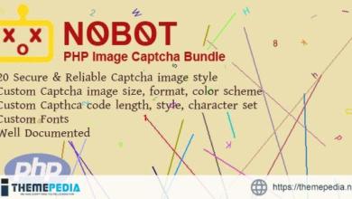 NoBot – PHP Image Captcha Bundle – [Download Torrent]