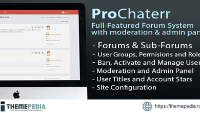 ProChaterr – Laravel Forum System – Full Featured Forum with Moderation and Admin Panel – [100% Nulled Script]