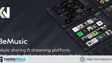 BeMusic – Music Streaming Engine – [Codecanyon Scripts]