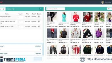 Sales management software ReactJS+Laravel – [Free Download]