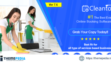 Online bookings management system for maid services and cleaning companies – Cleanto – [Free Codecanyon Script download]