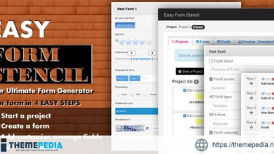 Easy Form Stencil – [100% Nulled Script]