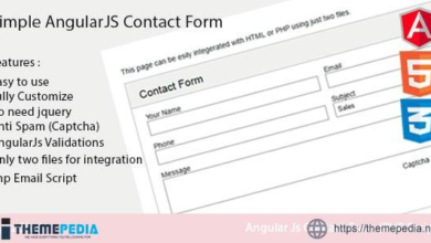 Simple AngularJs Contact Form – [100% Nulled Script]