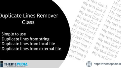 Duplicate Lines Remover Class – [100% Nulled Script]