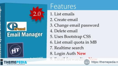 Cpanel Email Manager – [Free Codecanyon Script download]