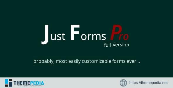 Just Forms Pro full – [Free Download]