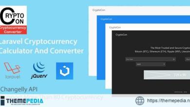 CryptoCon – Laravel Cryptocurrency Calculator And Converter – [Free Download]