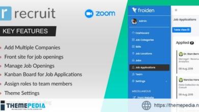 Recruit – Recruitment Manager – [100% Nulled Script]