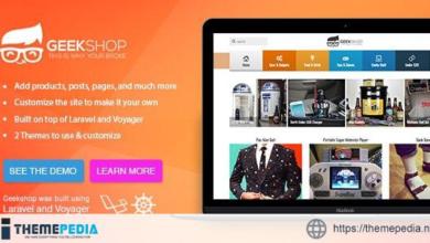 GeekShop – Geeky Cool Product Site – [100% Nulled Script]