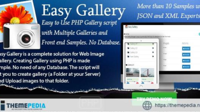 Easy Gallery – PHP based No-Database Gallery Creator – [Download Torrent]