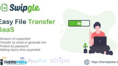 Swipgle – Easy File Transfer SaaS – [100% Nulled Script]
