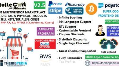 MulteCart Ultimate Ecommerce – Digital Multivendor Marketplace Online Store – eShop CMS – [Free Download]