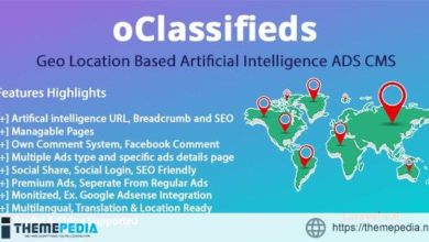 oClassifieds – PHP and Laravel Geo Classified ads cms – [100% Nulled Script]
